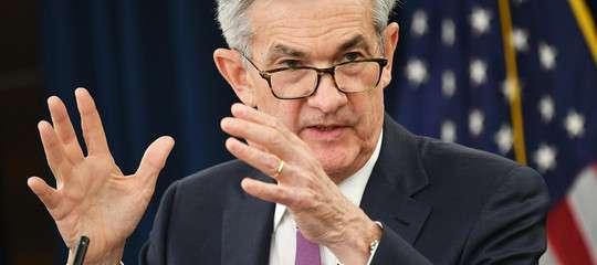 Anche Powell carica il bazooka: 1.300 miliardi di liquidità nel sistema statunitense