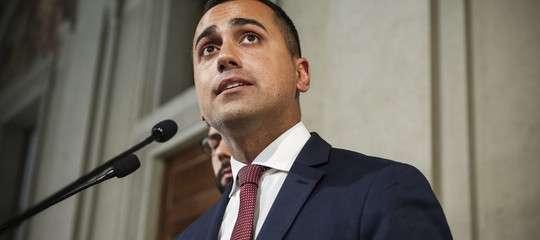 """Di Maio chiede il taglio dei parlamentari """"per rafforzare la fiducia del governo"""""""