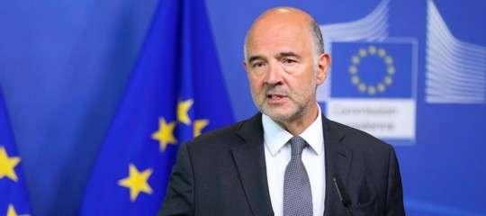 """""""L'Italia èil Paese che ha goduto della maggiore flessibilitànegli ultimi anni"""", dice Moscovici"""
