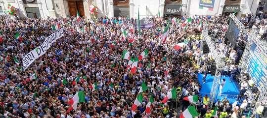 L'opposizione di Lega e FdIal Conte-bis dentro e fuori Montecitorio