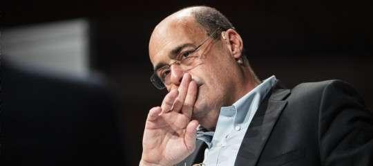 """""""No a governi pasticciati o di corto respiro"""", dice Nicola Zingaretti"""