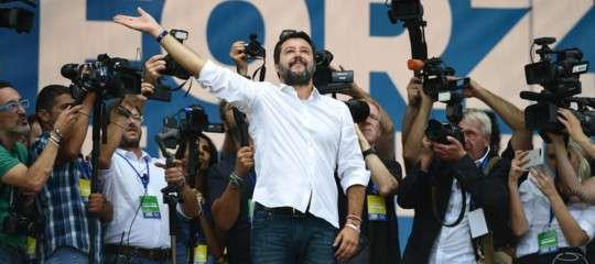 """""""Non penso che Pd e M5s andranno lontano"""", ha detto Salvini"""
