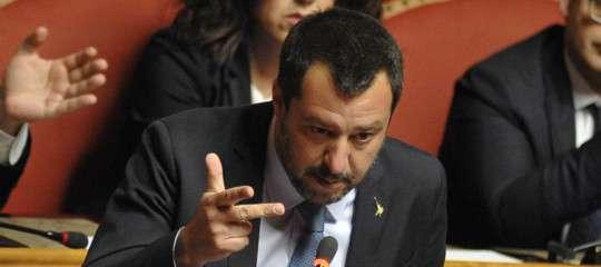 """Salvini: """"Taglio dei parlamentari e subito il voto, come chiede Di Maio"""""""